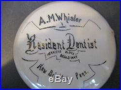 1882 Brown Maxwell Rochester Paperweight Dentist New Brighton Pennsylvania