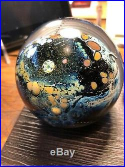1985 Josh Simpson Paperweight Utterly Fabulous 3 1/2 Inches