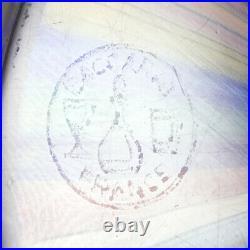 A Baccarat Zodiac Silhouette Closepack Church Paperweight 1971