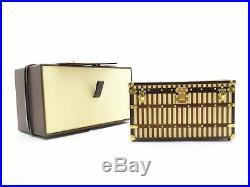 Authentic Louis Vuitton Mal. Cris 1888 Novelty Item Trunk 19041515TC