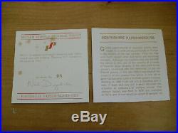 Boxed Ltd Ed Perthshire PP147 Magnum Ribbon & Millefiori Paperweight(98/300)