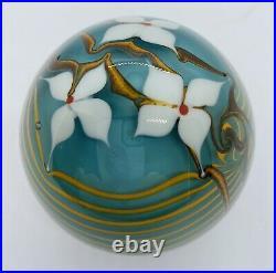 Bridgeton Studio Art Glass Paperweight signed Buzzini
