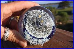 Glass Eye Studio Ges 94 Celestial Planet Series''mars'' Paperweight Excellent