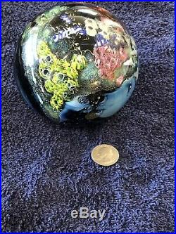 JOSH SIMPSON, 2001 PLANET SIGNED 4.5 Mega Planet With No Scratches Or Flaws