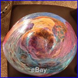 James Alloway glass platter