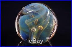 KARNIG STUDIO ART GLASS Paperweight 1979