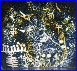 KOSTA Goran Warff Lappland Glass Paperweight 1967