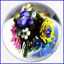 Ken ROSENFELD Large Marble withFull 3-D Spherical Bouquet