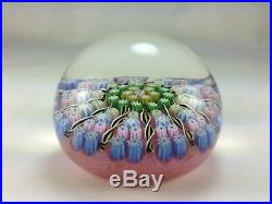 Lovely Perthshire Paperweight Twisted Canes and Tight Pack Limited Edition