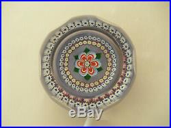 Ltd Ed Caithness Whitefriars Floriana Paperweight Monk Cane(59/250)