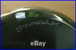 Ltd Ed Caithness William Manson Stingray Paperweight(36/50) 3 1/8