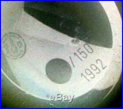 Modern MAGNUM Baccarat Paperweight / Briefbeschwerer
