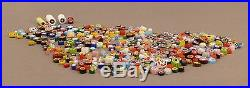 Nice Vintage Lot of 400+ Quality Art Glass Millefiori Cane Pcs for Paperweights