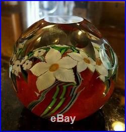 Orient And Flume Faceted Paperweight, 1983