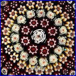 PARABELLE 1989 PG42 Concentric Millefiori withCenter Rose