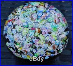 Perthshire Paperweights Millefiori Fountain Aladdins Cave Magnum Paperweight