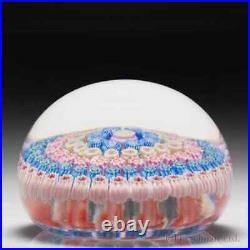 Perthshire Paperweights concentric millefiori glass paperweight