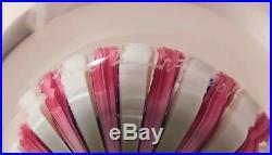 SALE ITEM -SPLENDID DAMON MacNAUGHT Millefiori Art Glass PAPERWEIGHT & Signature
