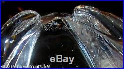 STEUBEN AMERICAN ART GLASS 1960s LLOYD ATKINS CRYSTAL FROG PAPERWEIGHT FIGURINE