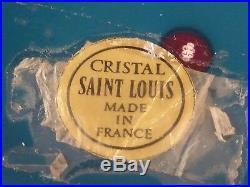 St. Saint Louis France Faceted Paperweight King Tut #159 COA EC