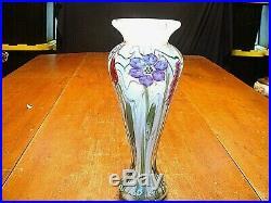 Vintage Vandermark Art Glass Paperweight Vase Sgd Vandermark, Merritt, Swan